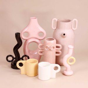 Avi Ben Shoshan artwork gallery sculptures vases Cool Machine store