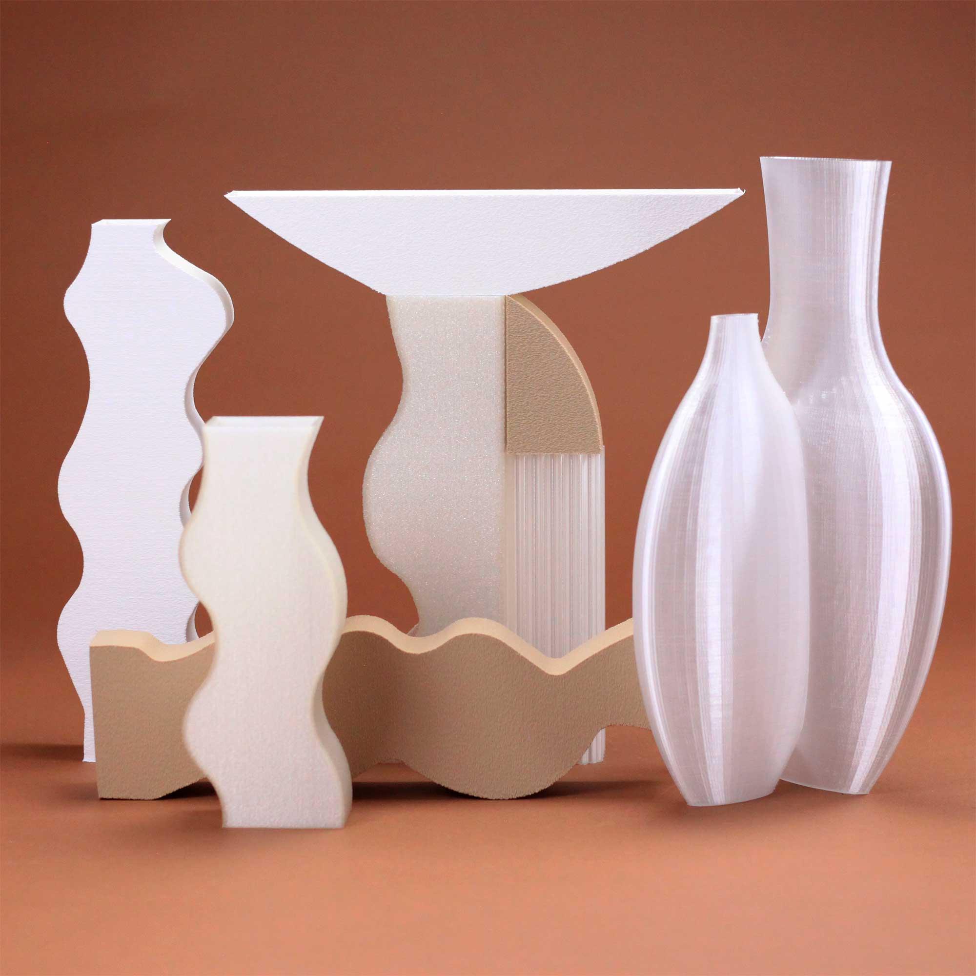 Argot Studio artwork gallery 3D vases Cool Machine store