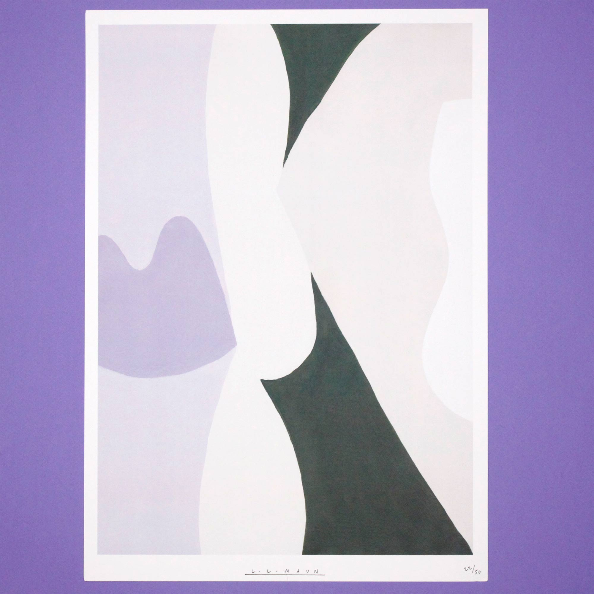 PRINT LAVENDER Laurie Maun Cool Machine