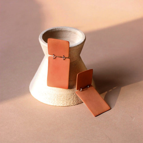BIG-BLOCK-EARRINGS-FOUR-EYES-CERAMICS-TERRACOTTA-HANDMADE-IN-US-COOL-MACHINE-3