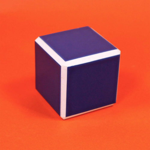 TILED SMALL CUBE - 3 COLORS