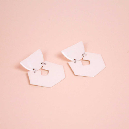 EARRINGS-HEX-MINERAL-WHITE-GLAZED-PORCELAIN-FOUR-EYES-CERAMICS-COOL-MACHINE-4