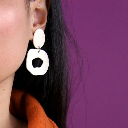 EARRINGS-SMALL-CUTOUT-DANGLE-WHITE-FOUR-EYES-CERAMICS-COOL-MACHINE-5