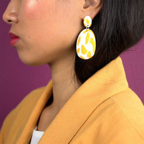EARRINGS-YELLOW-ABSTRACT-PATTERN-EMILY-GREEN-COOL-MACHINE-2