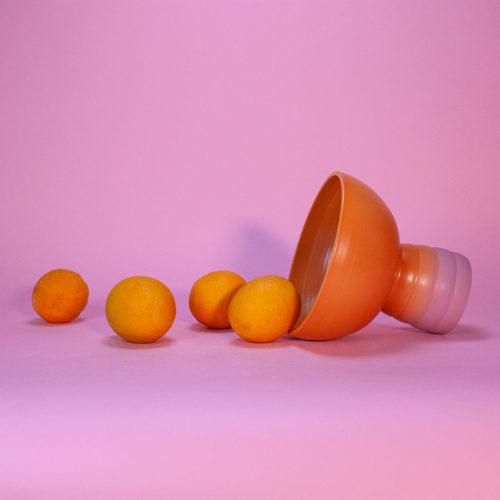 GRADIENT-FRUIT-BOWL-MARILYNE-BLAIS-ORANGE-DUSTY-PINK-MATTE-HANDMADE-COOL-MACHINE-5