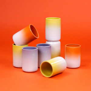 TURBIE GRADIENT TUMBLER - 3 COLORS Marilyne Blais Cool Machine