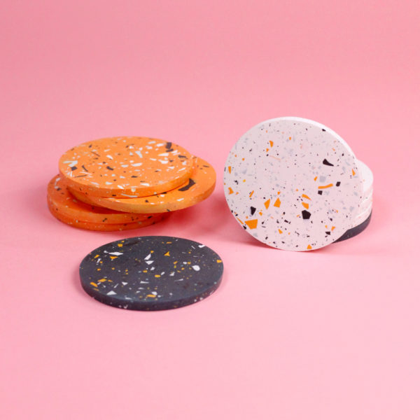 FRECKLED COASTERS - 3 COLORS - KATIE GILLIES
