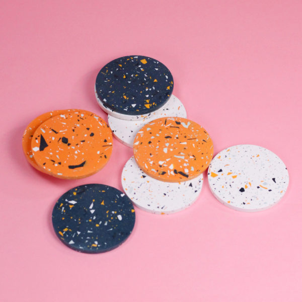 FRECKLED COASTERS - 3 COLORS