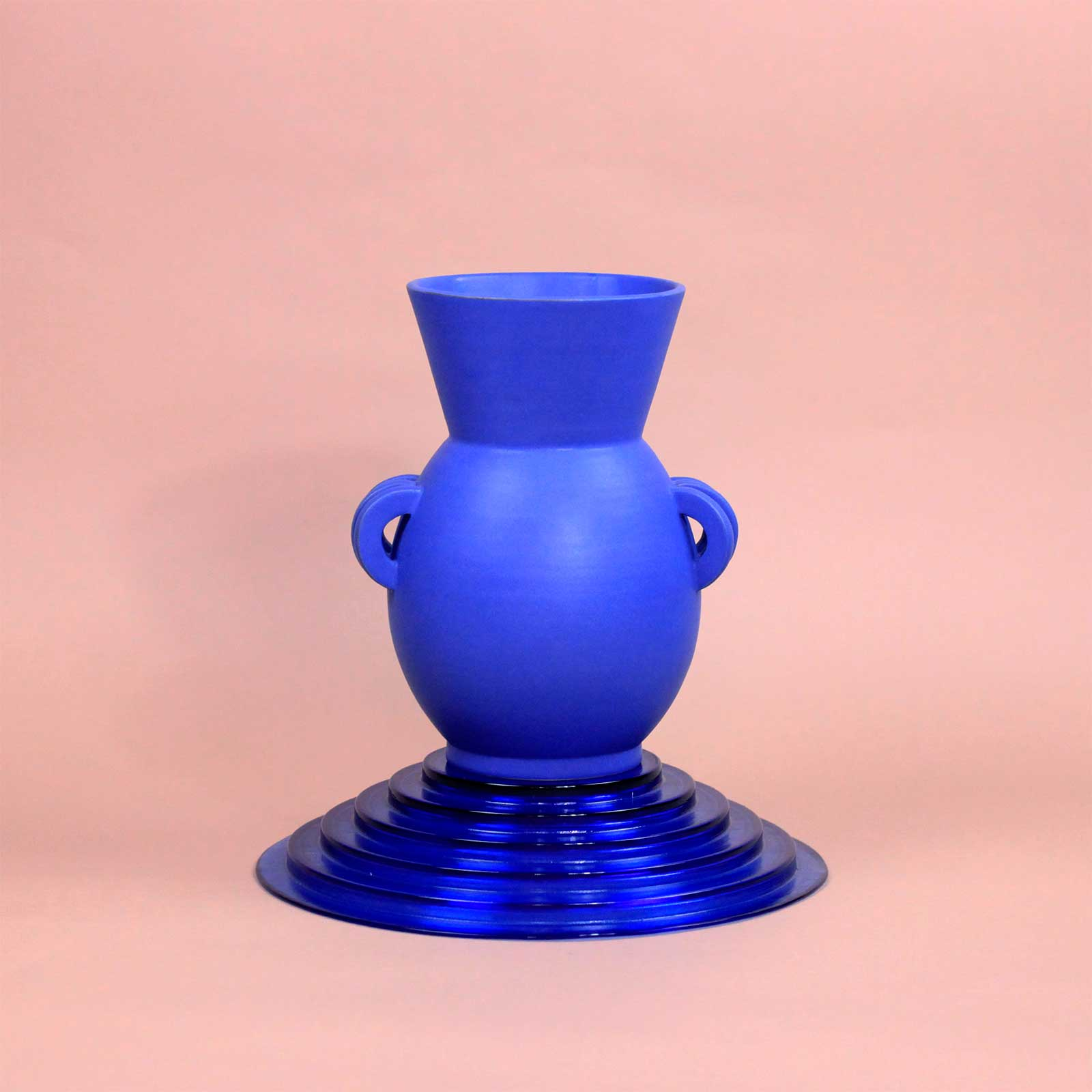 VASE LE GRAND BLEU III CERAMICS BY LAURA