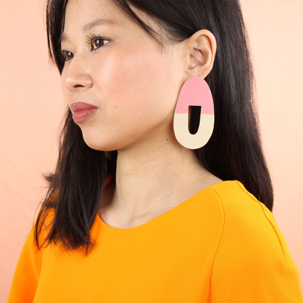 EARRINGS ORGANIC SHAPE