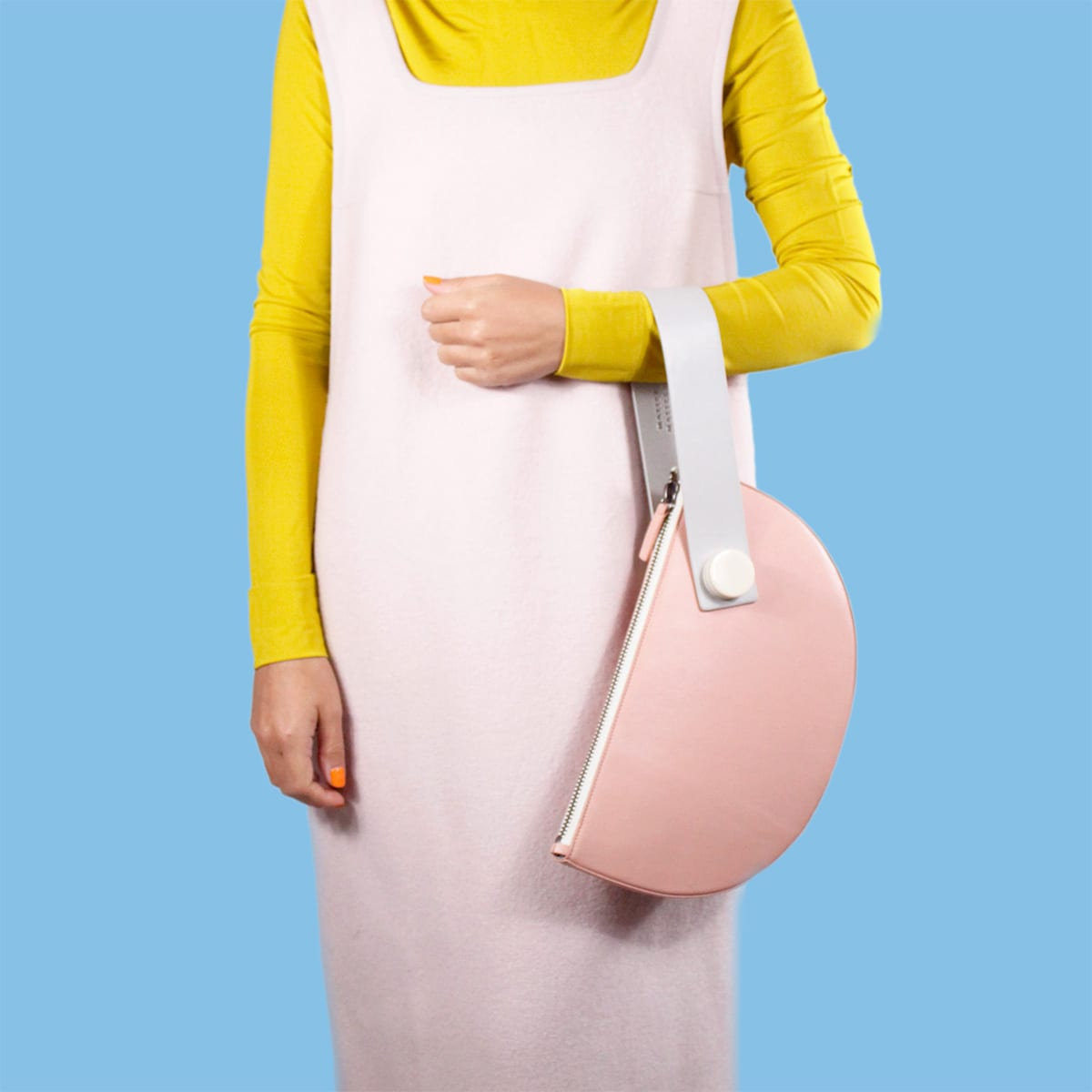 HALF MOON CLUTCH handbag Cool Machine