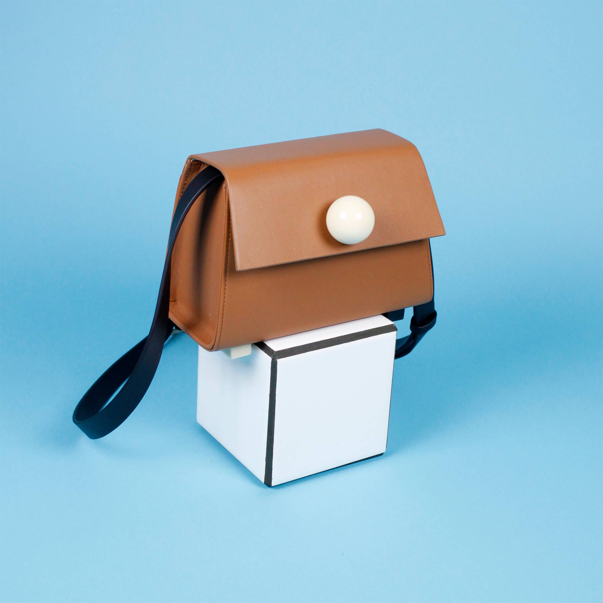 MODULAR BAG BROWN CLAY