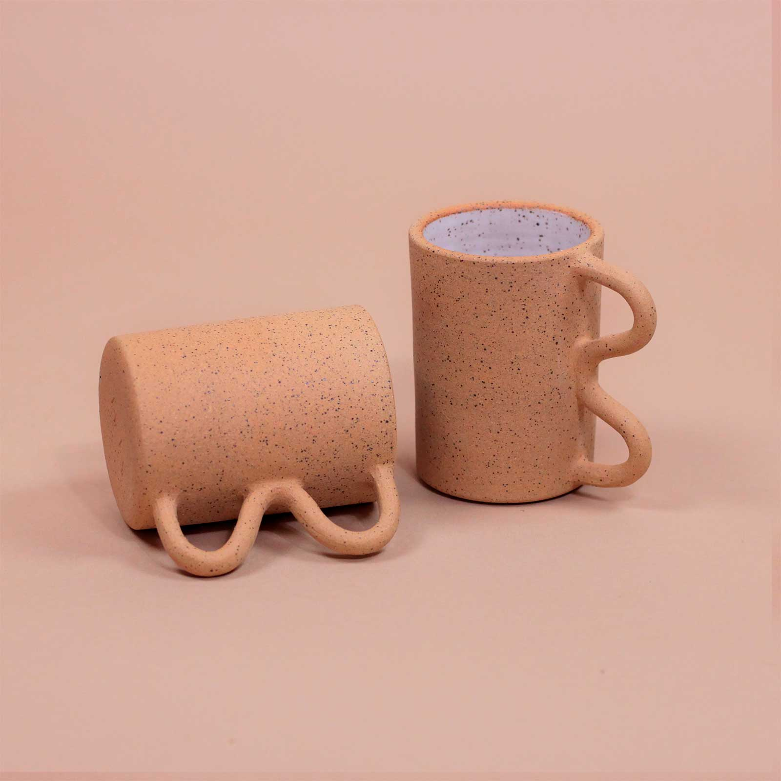 MUG SQUIGGLE Mimi Ceramics Cool Machine