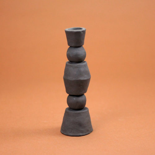 CANDLESTICK-TRIBÜ-TERRE-NOIRE-CASSANDRE-BOUILLY-CLAY-COOL-MACHINE-3