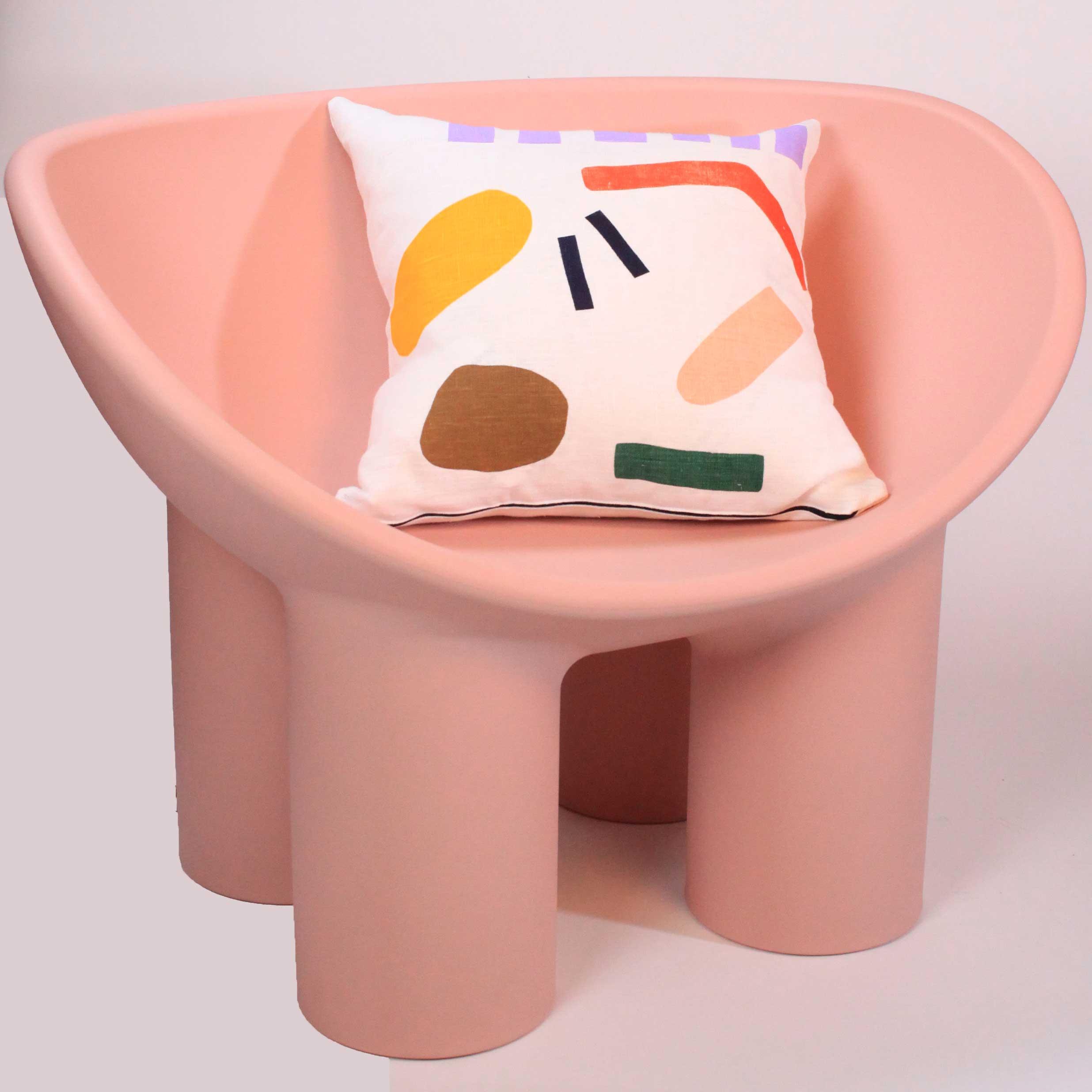 KJP artwork gallery textile cushion rug Cool Machine store