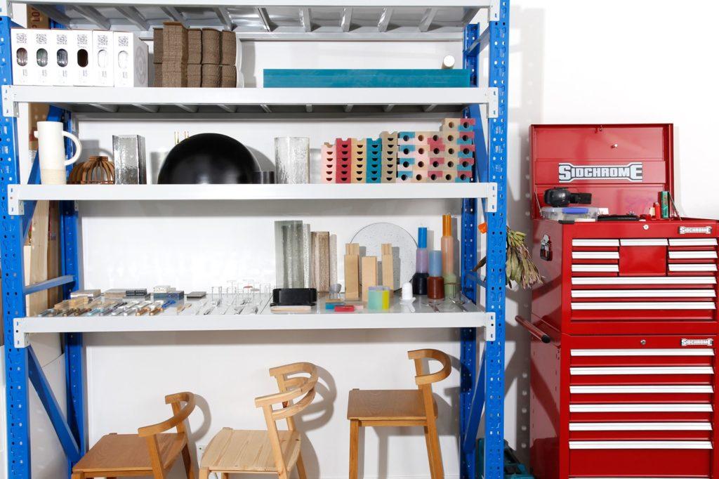 Dean Toepfer'studio in Australia