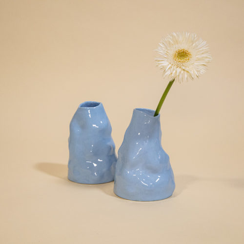 BABY BLUE VASE RAW DESIGN EXPERIMENTAL CLAY ARTISTS SIUP STUDIO COOL MACHINE ART AND DESIGN STORE CREATIVE STUDIO (4)