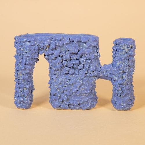 Furry doggo vase sculptural handmade SIUP Studio Cool Machine (4)