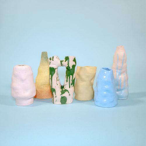 Multi vases handmade SIUP Studio Cool Machine (5)