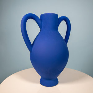 Vase louxor Julie Lansom royal blue made in France Cool Machine art and design store creative studio (2)