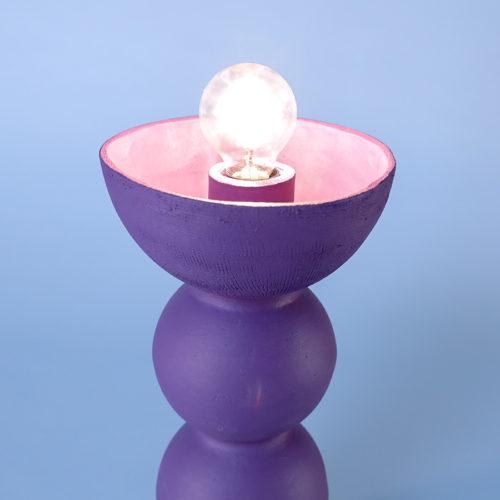blob lamp ceramic purple iaai handmade in berlin cool machine store (3)