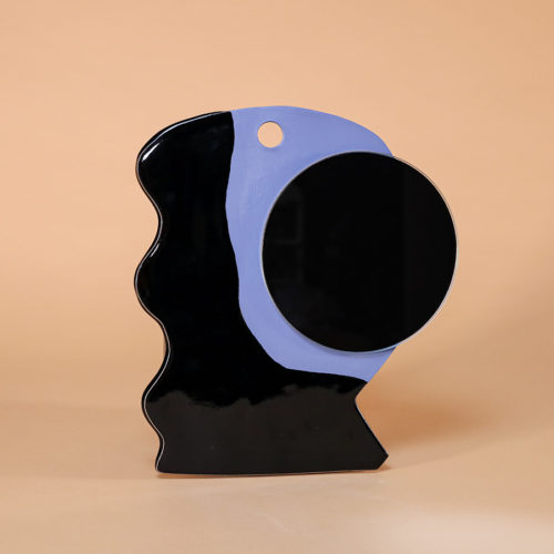 mirror sculpture ceramics iaai blue black handmade in berlin cool machine store (5)