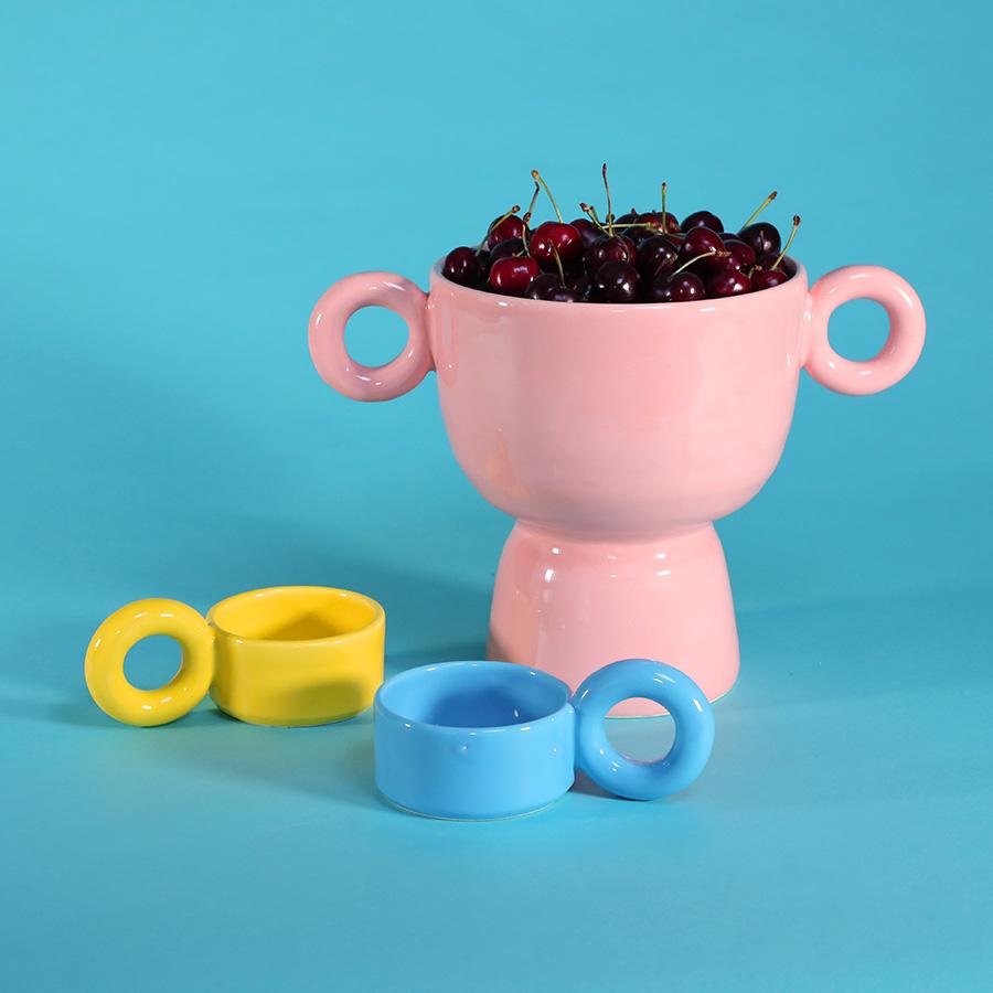 fruit cup pink lola mayeras ceramic tableware handmade in france cool machine art and design store (4)